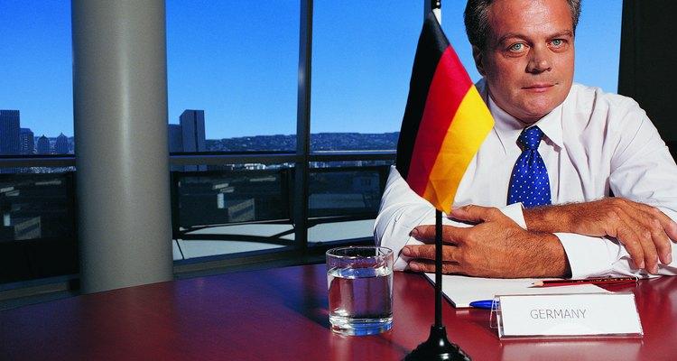 La cultura alemana en relación con los negocios es en general muy formal.