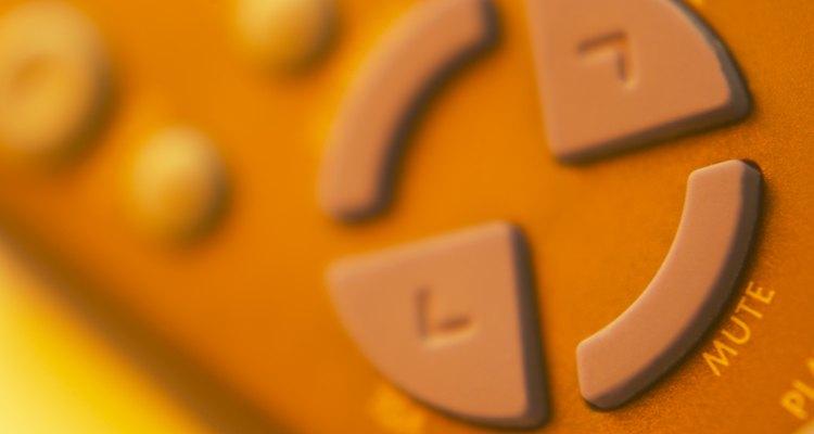 As teclas com setas permitem selecionar as opções do menu