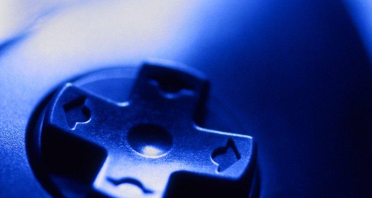 O controle DualShock 3 possui vários botões frontais e duas alavancas analógicas