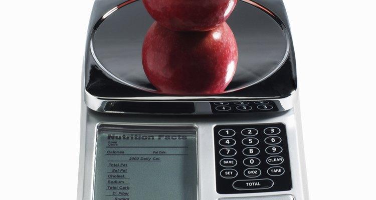 Las básculas digitales de cocina son parecidas a los modelos que vemos en el supermercado.