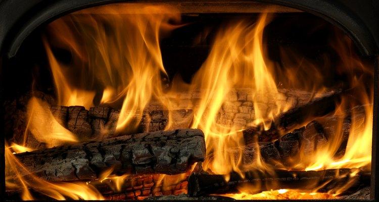 El hollín de los ladrillos causa mucho humo.