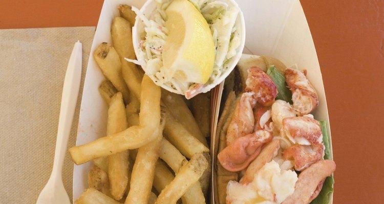 Lagosta congelada, como qualquer outro marisco, fica melhor se saboreada em pratos cozidos