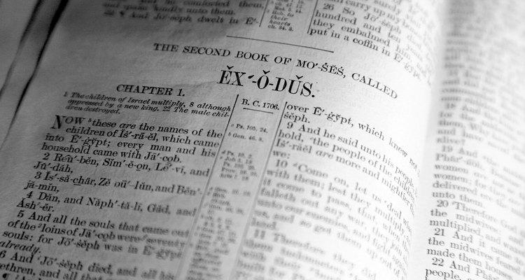 Éxodo, Biblia