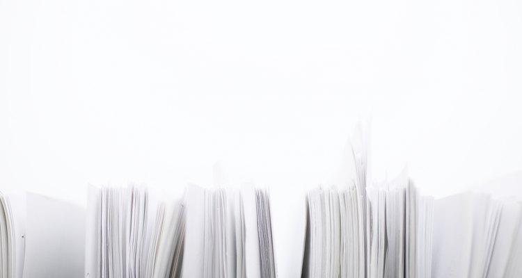 Los broches para carpeta son muy útiles para proteger registros médicos y documentos de impuestos.