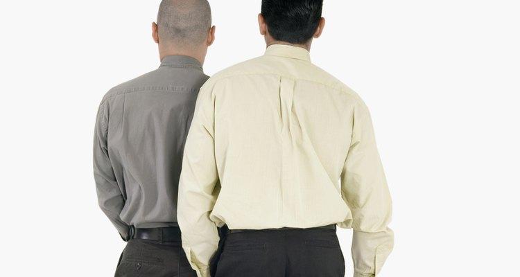 O jugo é o tecido das costas de uma camisa