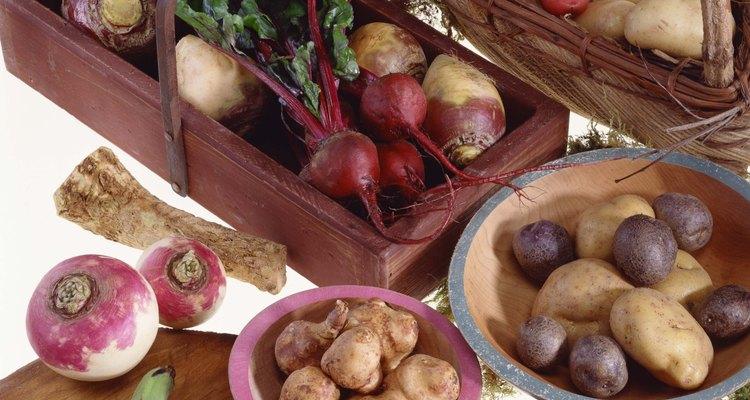El tupinambo es un vegetal de raíz.