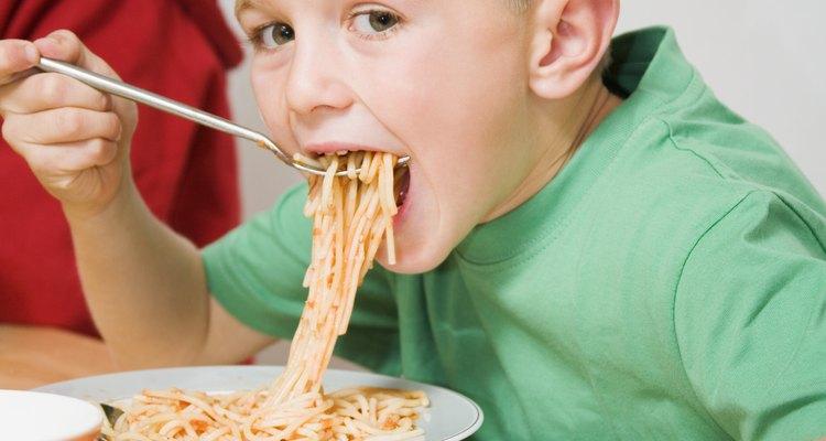 Una comida a base de pasta no necesita incorporar carne.