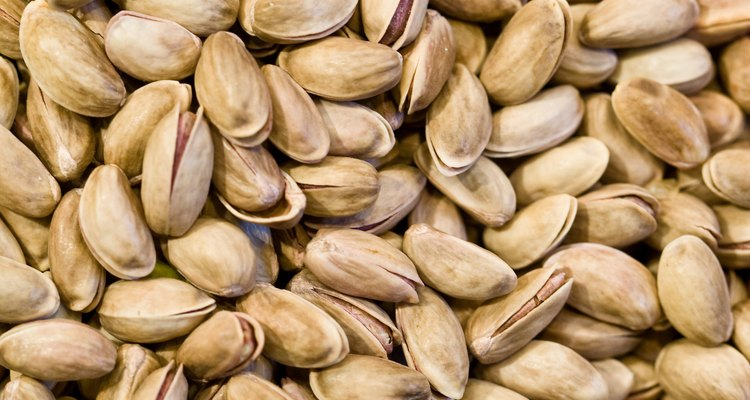 Pistachio shells can be turned into musical shakers.