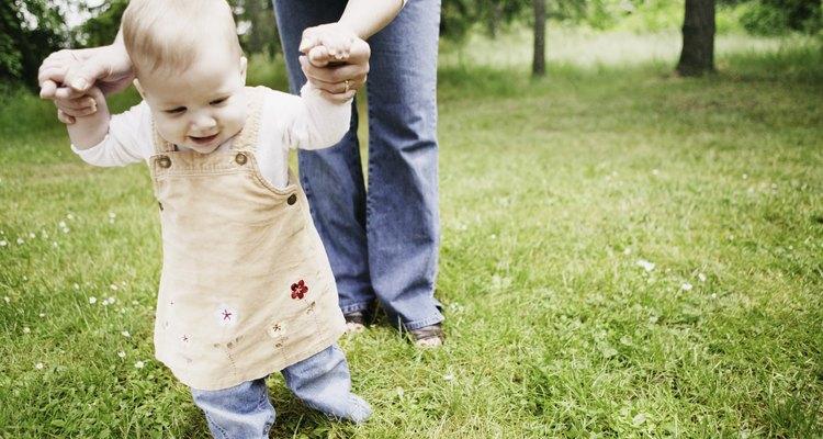 Tu bebé caminará cuando su cuerpo esté listo para ello.