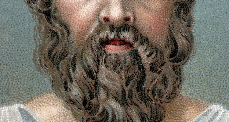 Socrates educated his students through questions leading to discovery.