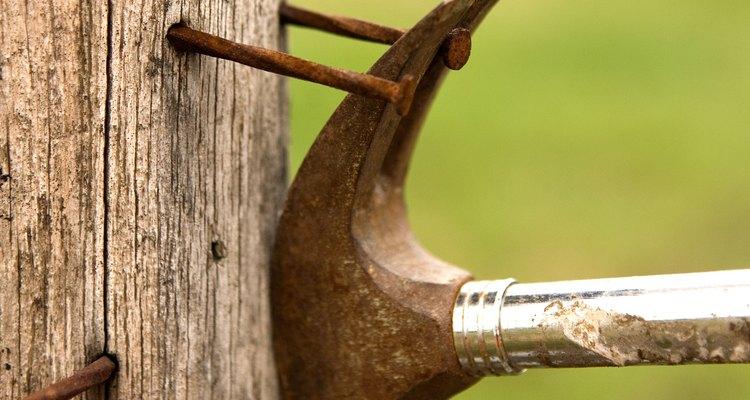 A ferrugem não só destrói metal, mas também pode causar infecções e tétano