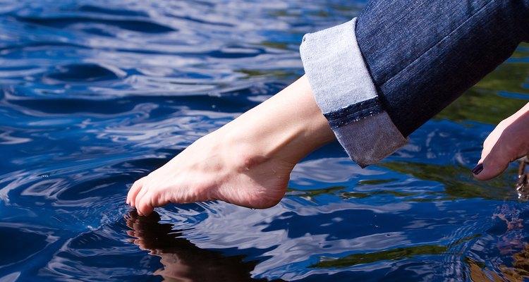 Los lagos cerca de Williams son una escapada fresca de verano.