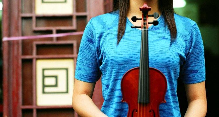 Use um violino de verdade como inspiração