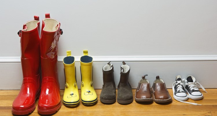 Line of shoes