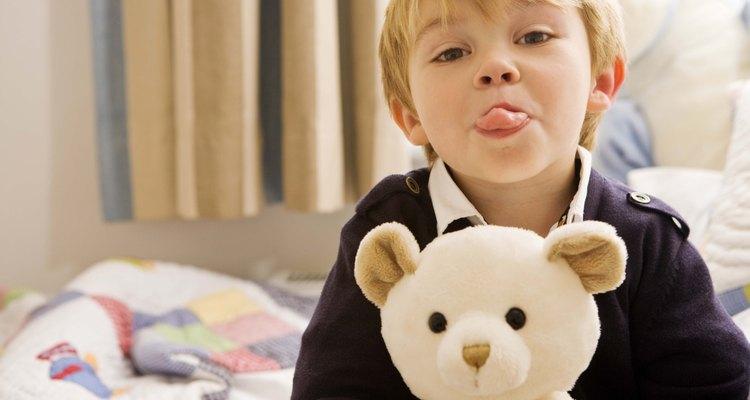 Los niños pequeños a menudo saben cómo ser malcriados.