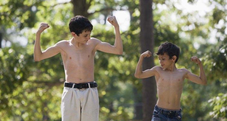 Los cambios de la pubertad te ayudarán a ganar peso.
