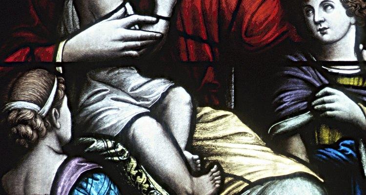 """Jesús dijo: """"Dejad que los niños vengan a mí""""."""