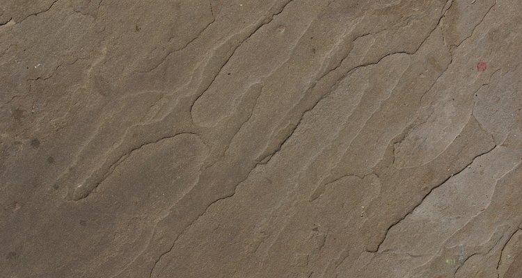 Arenito é uma das rochas sedimentares mais comuns na Terra