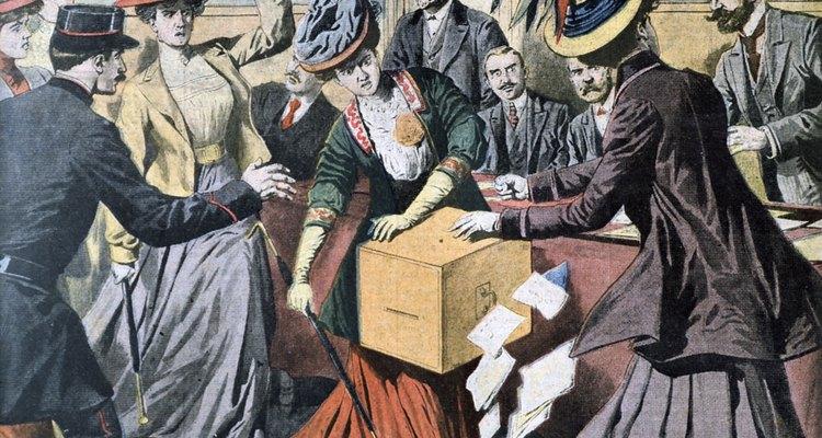 A principios del siglo XX, el movimiento por el sufragio femenino se extendió por todo el mundo occidental.