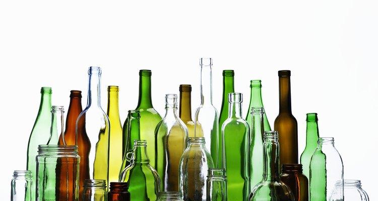 Escolha diferentes cores de vidros para ter um resultado final mais interessante