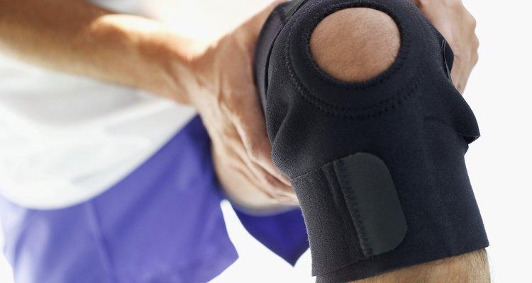 A joelheira pode reduzir a dor experimentada durante a atividade