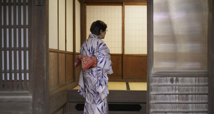 O quimono foi a peça fundamental do Japão.