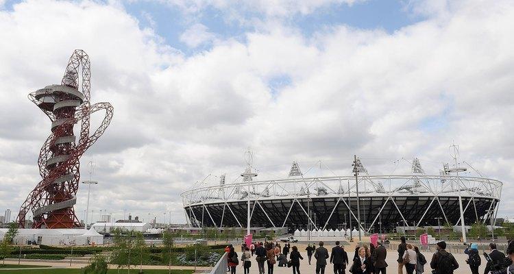 Dê uma espiada no interior do Estádio Olímpico de Londres de cima