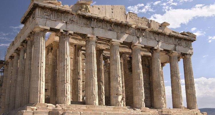 A Acropole na Grécia