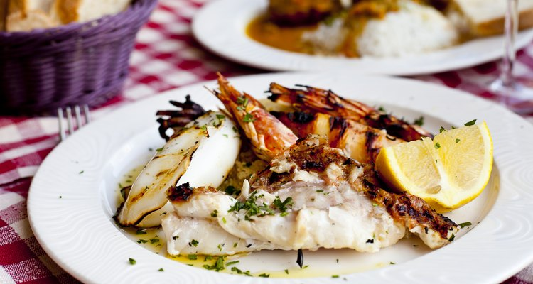 seafood dish from Florence, Italy