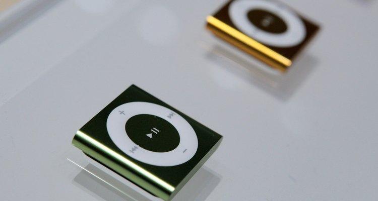 O iPod shuffle apenas reproduz e armazena arquivos de áudio