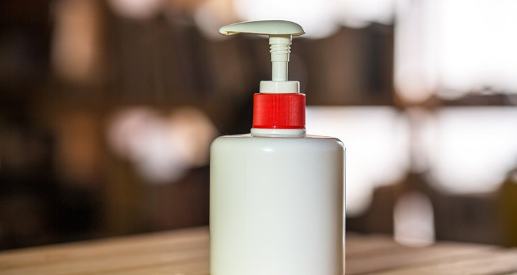 sprinkling bottle on table