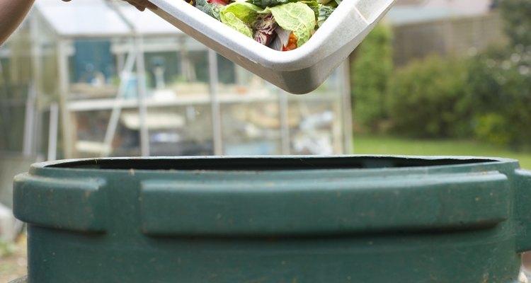 Pila de compostaje.