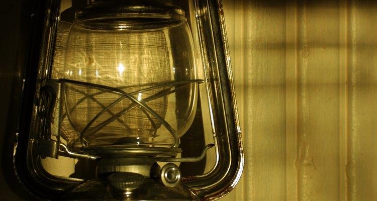 Las lámparas de aceite se utilizaron durante siglos.