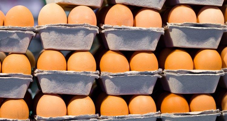 Os ovos podem suportar uma queda de 6 metros se protegidos corretamente