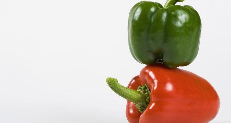 Os pimentões podem amadurecer após a colheita, mas há um truque para isso