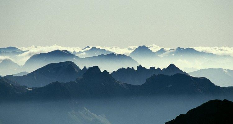 Zona montañosa.