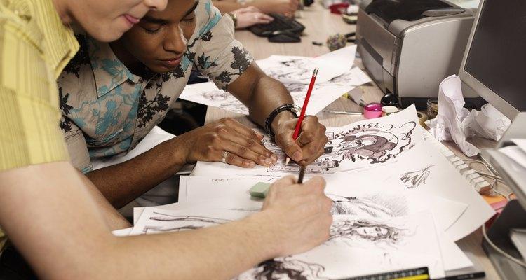 Elabora los bocetos iniciales para tu serie animada con calidad.