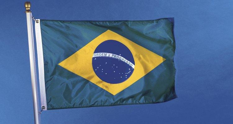 Bandeira exposta ao tempo