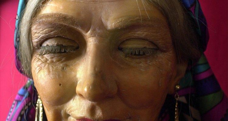 O ciganos medievais envolviam um lenço colorido ao redor de sua cabeça