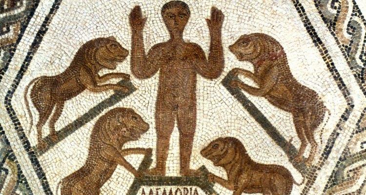 O profeta Daniel na cova dos leões