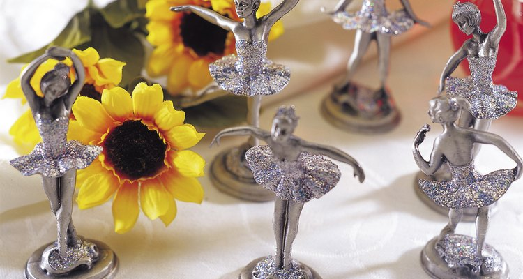Pewter can hold fine detail well and is often used to create small statuettes.