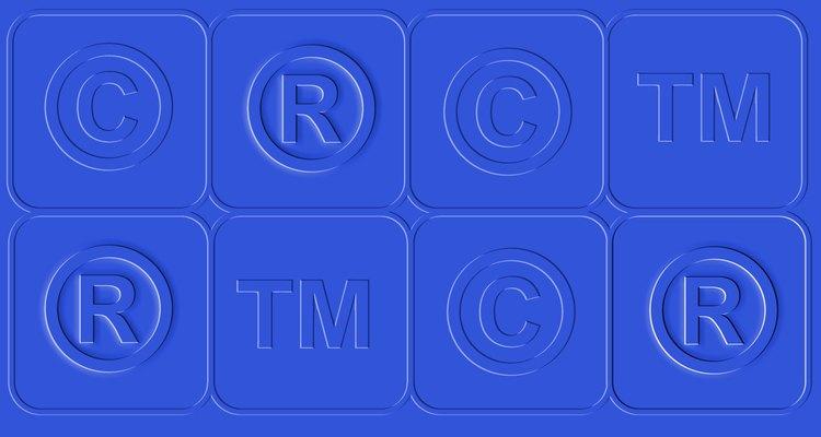 """O símbolo de marca registrada, mais conhecido como o """"R"""" com o círculo em volta, indica marcas registradas"""