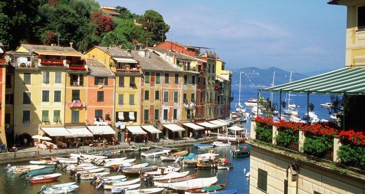 El pequeño pueblo de Portofino es un destino de alta calidad.