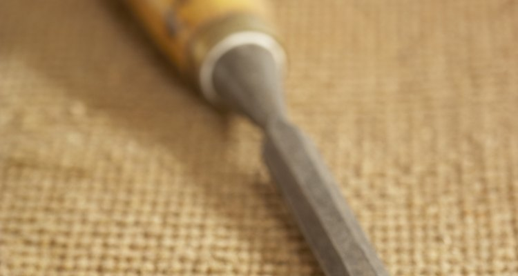 Chisels help with the fine work of stonecutting.