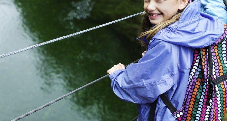 Mantén las chaquetas Omni-Tech de tus hijos simplemente lavando y secando.