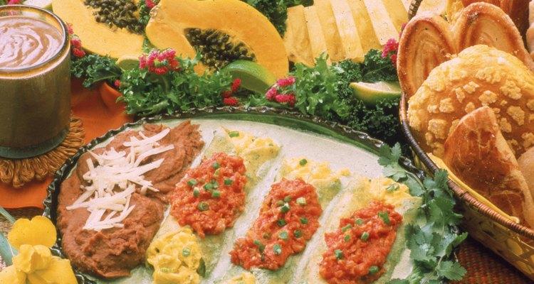 Cómo elegir la comida para una fiesta mexicana.