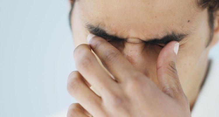 Sofrendo irritação dos olhos
