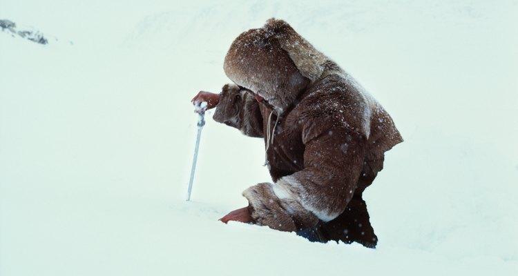 Los nativos de Alaska viven en climas árticos.