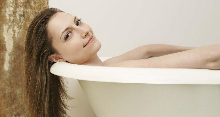 Mantenha a sua banheira aquecida