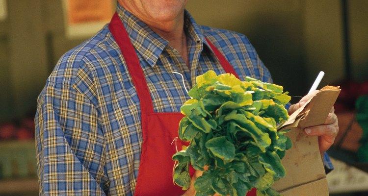 Peça a mercearia local para guardar restos de vegetais para suas galinhas